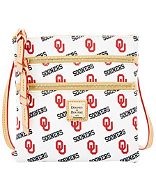 Dooney & Bourke Oklahoma Sooners Triple-Zip Crossbody Bag