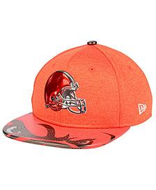 New Era Boys' Cleveland Browns 2017 Draft 9FIFTY Snapback Cap