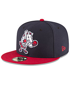 New Era Binghamton Rumble Ponies AC 59FIFTY Fitted Cap