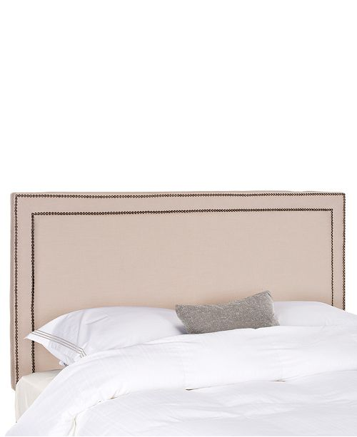 SUNDAY THEORY Corry Full Brass Nail Headboard, Quick Ship