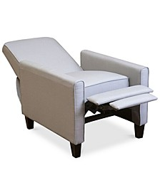 Almonte Fabric Recliner Club Chair
