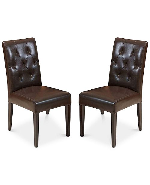 Noble House Maldan Dining Chairs (Set Of 2), Quick Ship