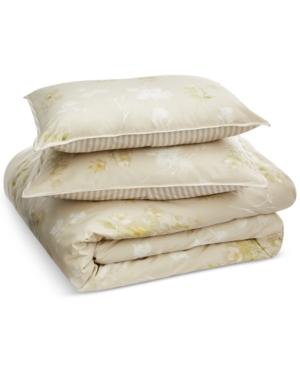 Lauren Ralph Lauren Lakeview Reversible Textured 3Pc King Comforter Set Bedding