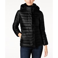 Deals on Cole Haan Signature Faux-Fur-Trim Down Puffer Coat