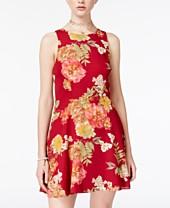 Red Dresses For Juniors Macy S