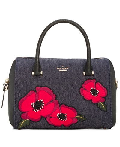 Kate spade purses handbags macys kate spade new york cameron street poppy large lane satchel junglespirit Gallery