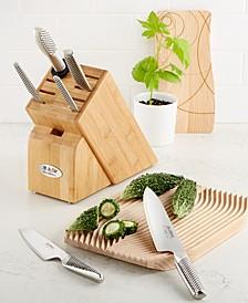 Stainless Steel Japanese Takashi 7-Pc. Cutlery Set