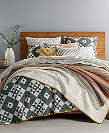 Martha Stewart Collection Western Vibrations Bedding Collection, Created for Macy's