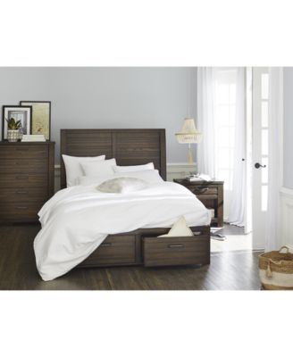 Emory Storage California King Platform Bed, Created for Macy's