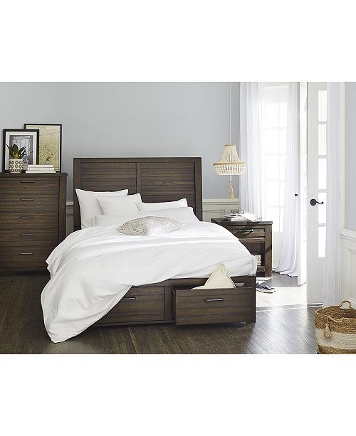 Macysfurniture Com: Furniture Emory Storage Platform Bedroom Furniture