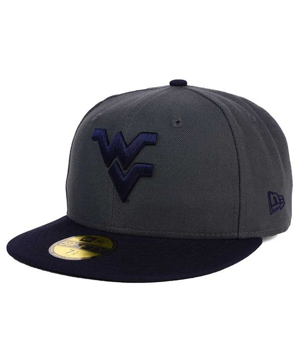 New Era West Virginia Mountaineers AC 59FIFTY Cap