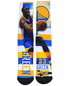 For Bare Feet Draymon Green Golden State Warriors Pro Stripe Player 308S Crew Sock