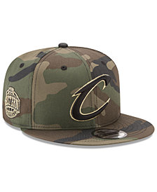 New Era Cleveland Cavaliers Metallic Woodland 9FIFTY Snapback Cap