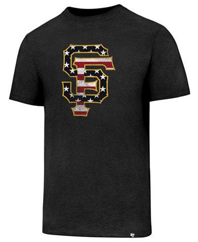 '47 Brand Men's San Francisco Giants Americana Star T-Shirt
