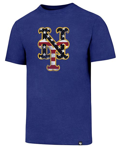 '47 Brand Men's New York Mets Americana Star T-Shirt