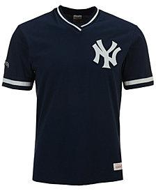 Mitchell & Ness Men's New York Yankees Coop Overtime Vintage Top