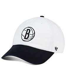 '47 Brand Brooklyn Nets 2-Tone CLEAN UP Cap