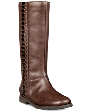 Kenneth Cole New York Kennedy Lace Tall Boots Toddler Little  Big Girls