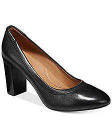 Clarks Artisan Women's Chryssa Ari Block-Heel Pumps