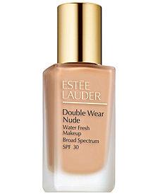 Estée Lauder Double Wear Nude Water Fresh Makeup SPF 30, 1 oz.