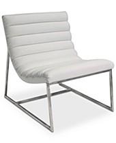 White Bedroom Chairs - Macy\'s