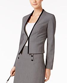 Gray Womens Blazers - Macy's