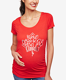 Motherhood Maternity About To Be Born In Canada™ Maternity Tee