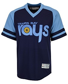 Majestic Men's Tampa Bay Rays Blank Replica Cool Base Jersey