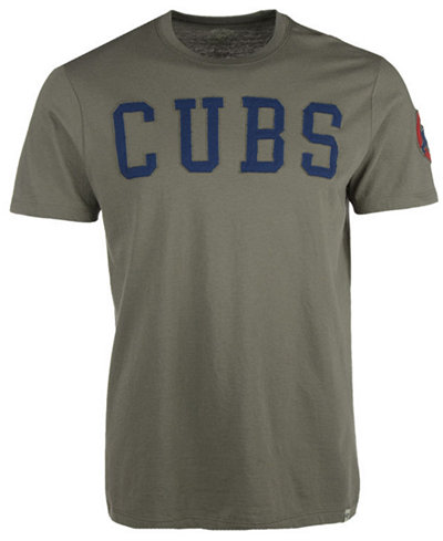 '47 Brand Men's Chicago Cubs Fieldhouse Basic T-Shirt