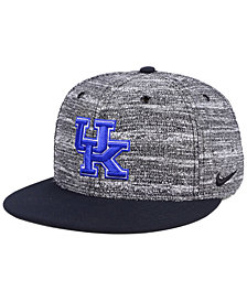Nike Kentucky Wildcats Col True Heathered Snapback Cap