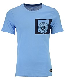 Nike Men's Manchester City Club Team Crest Logo T-Shirt