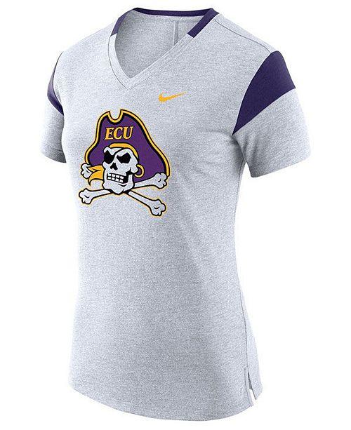 Nike Women's East Carolina Pirates Fan V Top T-Shirt