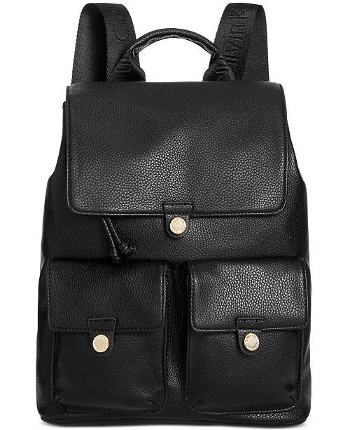 Calvin Klein Snap Pocket Small Backpack