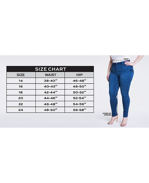 90f47d63af7 ... Celebrity Pink Trendy Plus   Petite Plus Size Super-Soft Walker Skinny  Jeans ...