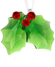 Swarovski Holly Ornament