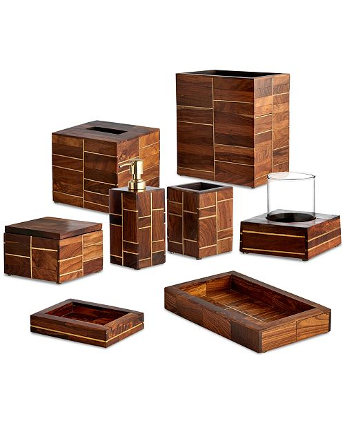 Cassadecor Roosewood Bath Accessories Collection