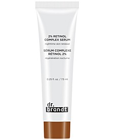 Receive a Free 2% Retinol Complex Serum Nightime Skin Renewal with any $40 Purchase!