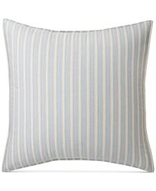 Graydon Cotton Bold Stripe European Sham