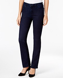 Marilyn Tummy-Control Straight-Leg Jeans, In Regular & Short Lengths