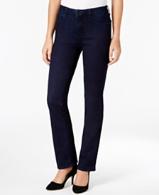 NYDJ Marilyn Tummy-Control Straight-Leg Jeans, In Regular & Petite Sizes