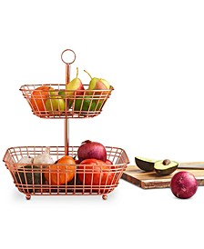 Copper Tiered Fruit Basket, Created for Macy's