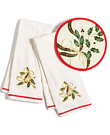 Lenox Holiday Nouveau Kitchen Linens Collection