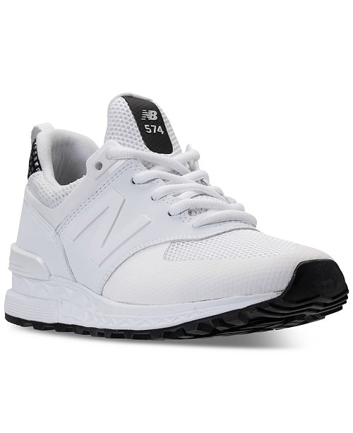 online retailer c29d6 0a869 New Balance Women's 574 Sport Casual Sneakers from Finish ...