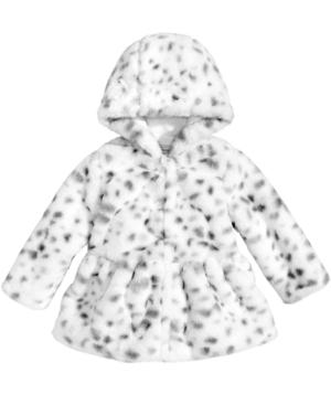 First Impressions FauxFur AnimalPrint Jacket Baby Girls (024 months) Created for Macys