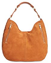 INC International Concepts Delaney Stud Hobo, Created for Macy's