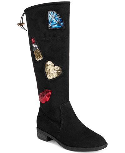 Sam Edelman Pia Patches Boots, Little & Big Girls