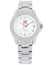 Jack Mason Women's Nebraska Cornhuskers Glitz Sport Bracelet Watch