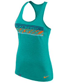 Nike Women's Miami Dolphins Dri-Fit Touch Tank