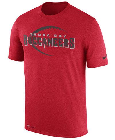 Nike Men s Tampa Bay Buccaneers Legend Icon T-Shirt - Sports Fan ... 0dd6ec46b