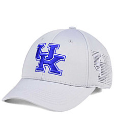 Top of the World Kentucky Wildcats Light Gray Rails Flex Cap